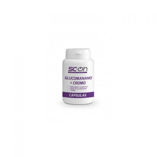 Glucomanano + Cromo (90 Cápsulas)